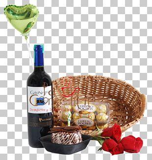 Food Gift Baskets Liqueur Wine Hamper PNG