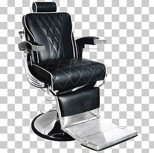 Barber Chair Beauty Parlour Recliner PNG