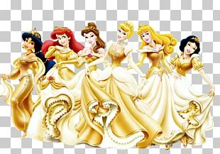 Cinderella Rapunzel Wall Decal Disney Princess PNG