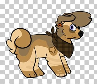 Puppy Lion Dog Horse Cat PNG