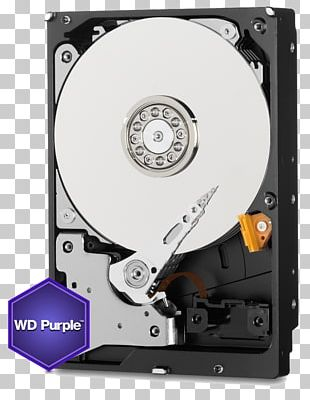 "WD Purple SATA HDD Hard Drives WD Purple 3.5"" Serial ATA Data Storage PNG"