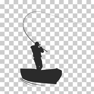 Fishing Silhouette Fisherman PNG