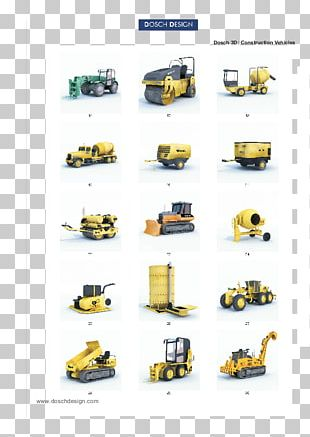 Motor Vehicle Heavy Machinery Excavator Construction PNG