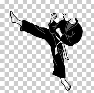 Karate Kick Martial Arts Budō PNG