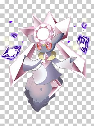 Pokémon Ultra Sun And Ultra Moon Diancie Hoopa Alola PNG