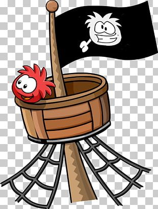 The Crow's Nest Club Penguin PNG