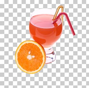 Ice Cream Orange Juice Cocktail PNG