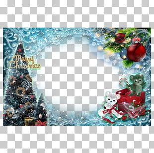 Christmas Tree Frame PNG