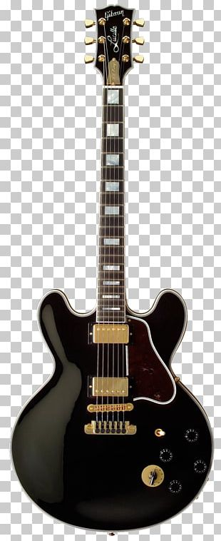 Lucille Gibson Les Paul Gibson ES-345 Electric Guitar PNG