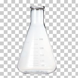 Erlenmeyer Flask Laboratory Flask Laboratory Glassware Round-bottom Flask PNG