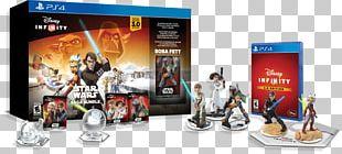 Disney Infinity 3.0 Anakin Skywalker Ahsoka Tano Luke Skywalker PlayStation 4 PNG