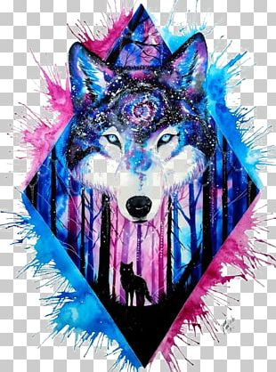 Wolf Avatar PNG