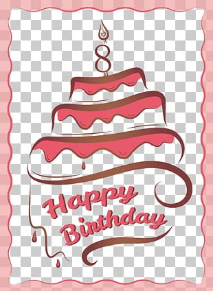 Birthday Cake Greeting Card Birthday Card PNG