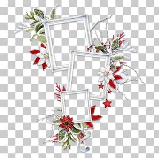 Floral Design Christmas Ornament Cut Flowers PNG