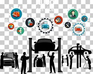 Car Motor Vehicle Service Automobile Repair Shop Maintenance PNG