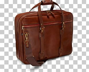 Briefcase Leather Flight Bag Baggage PNG