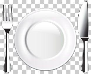 Plate Tableware Fork Cutlery PNG