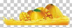 Juice Fruit Mango Food Drawing PNG