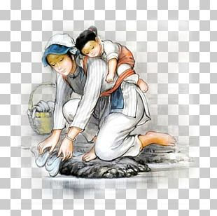 Sutra Of Filial Piety Parent Mother Kneeling PNG