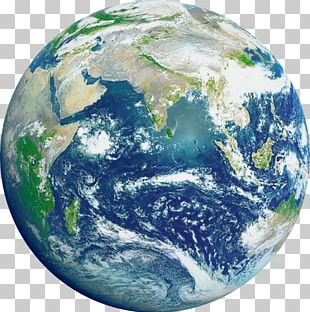 Earth The Blue Marble Space Planet Weather Satellite PNG