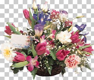 Flower Bouquet Cut Flowers Tulip PNG