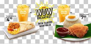 KFC Breakfast Fast Food Restaurant PNG