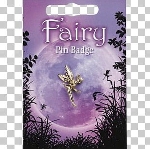 Lapel Pin Badge Pewter Fairy Charms & Pendants PNG