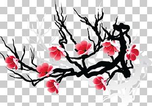 Cherry Blossom Drawing Flower PNG