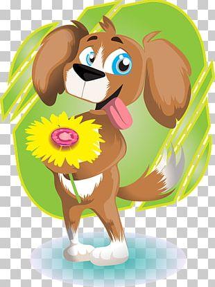 Dog Valentine's Day PNG
