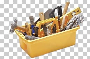 Tools In Yellow Holder PNG
