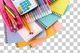 Paper Stationery Pencil Book Office Supplies PNG