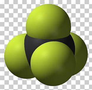 Tetrafluoromethane Space-filling Model Sulfur Hexafluoride Chemistry Leidenfrost Effect PNG
