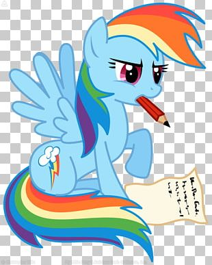 Fan Art Rainbow Dash PNG