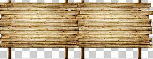Lumber Wood Billboard Advertising Plank PNG