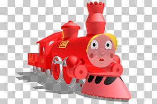 Casey Jr. Circus Train Rail Transport Thomas Track PNG