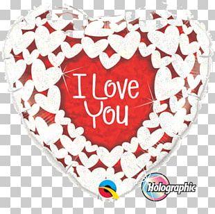 Balloon Valentine's Day Heart Gift Flower Bouquet PNG