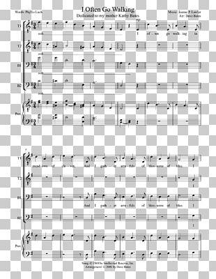 Sheet Music Choir SATB Arrangement PNG, Clipart, Arrangement, Brand