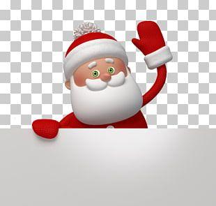 Santa Claus Christmas Card Greeting Card Stock Photography PNG