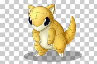 Cat Sandshrew Pikachu Pokémon Sandslash PNG