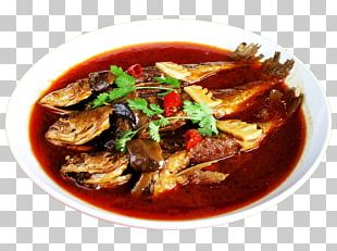 Simmering Fish Soup Meat Cooking PNG