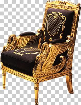 Wing Chair Furniture Empire Style Bergxe8re PNG