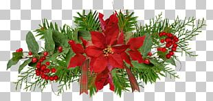 Christmas Ornament Flower Christmas Decoration Garland PNG