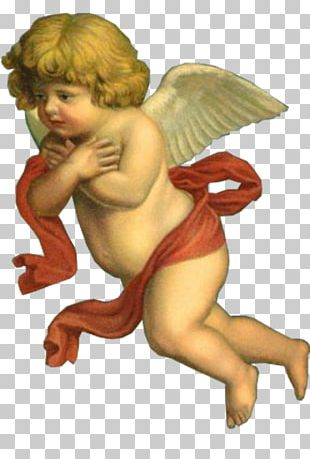 Paper Cherub Angel Fairy Cupid PNG