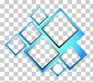 Blue Square PNG