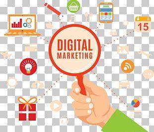 Digital Marketing Business Social Media Marketing Online Advertising PNG