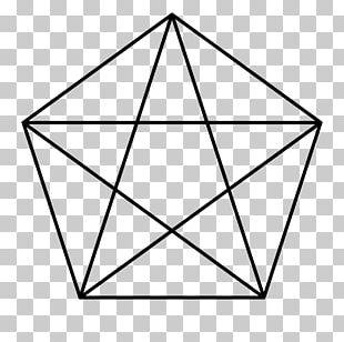 The Pentagon Pentagram Symbol Regular Polygon PNG