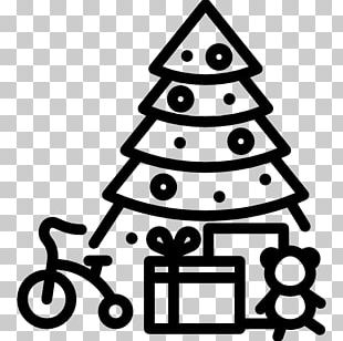 Christmas Tree White PNG
