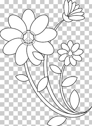 Floral Design Coloring Book Flower Pattern PNG