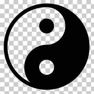 Yin And Yang Symbol Chinese Cuisine PNG