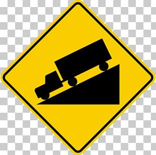 Traffic Sign Warning Sign Grade Manual On Uniform Traffic Control Devices PNG